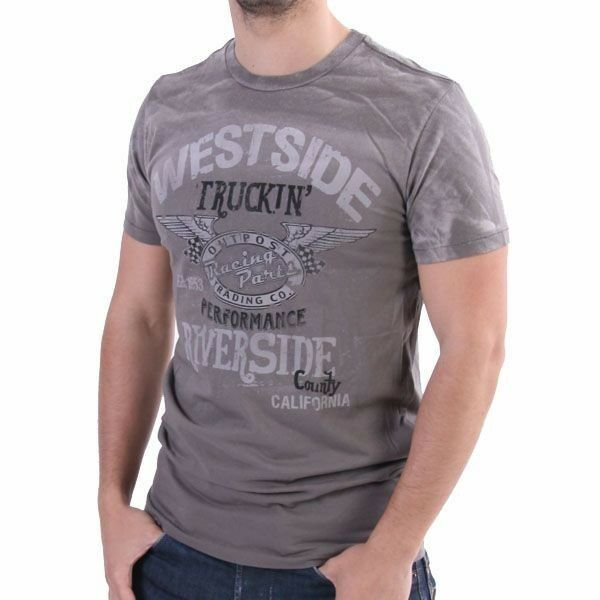 Outpost T-Shirt Men - West Side Truckin - Grau