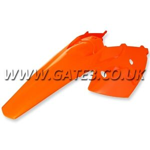 KTM 125SX SX 125 2004-2006 ORANGE REAR FENDER + SIDE PANELS MUDGUARD MOTOCROSS