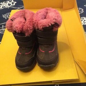 Girls winter boots insulated