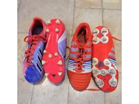 Size 4 adidas football boots