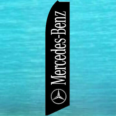 Mercedes Benz Flutter Flag Tall Auto Dealer Used Cars Advertising Swooper Banner