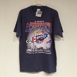 1997 Toronto American Bowl Packers vs Bills T Shirt