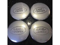 4 genuine Land Rover alloy wheel centre caps LR069900