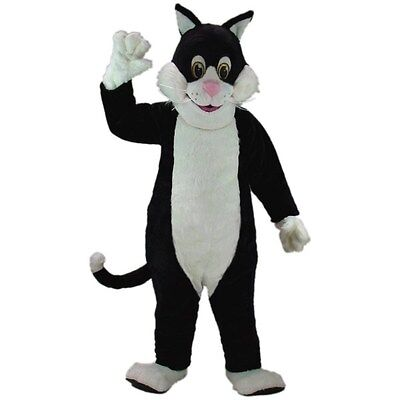 Black Cat Professional Quality Mascot Costume Adult Size