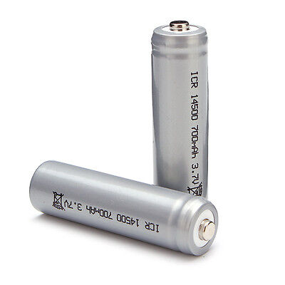 14500 Battery 3.7V 700mAh for RC Toys and flashlights 2 pc