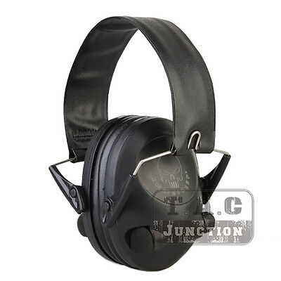 Emerson Tactical Peltor 6S Electronic Headset Hearing Protector Earmuffs+Battery (6s Hearing Protector)