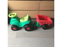 Ride-On Tractor. Great Condition.