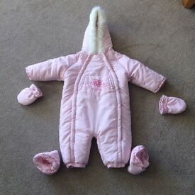 9-12month snow suit