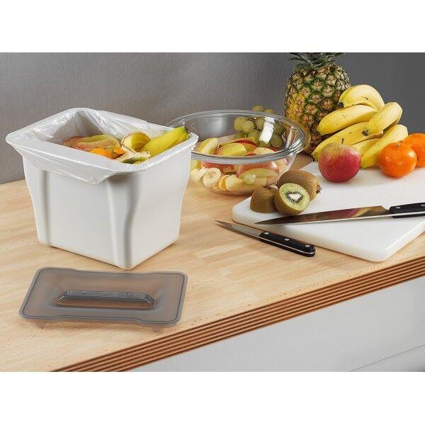 wesco kitchen multi box hellgrau bio m lleimer f r k che abfallsammler 5 l eur 15 50. Black Bedroom Furniture Sets. Home Design Ideas