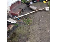 Ford Fiesta Zetec s mk 5 cobra twin exhaust,£80,no offers