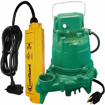 Zoeller N53 - 13 Hp Cast Iron Submersible Sump Pump W Levelguardtrade Switch
