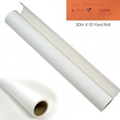 Yupo Multimedia Paper Roll 30 inches x 10 Yards - White 74 - White Paper Roll