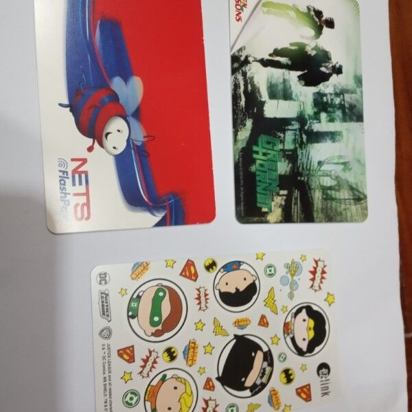 Brand new EZlink cards
