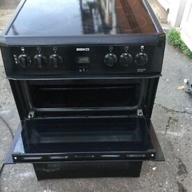 60cm Beko electric cooker with three months warranty