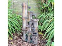 Pipe Garden Water Feature Fountain (FREE LOCAL DELIVERY)
