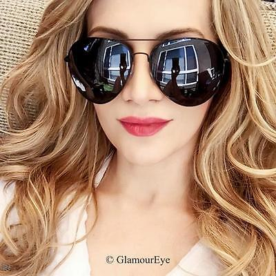 Oversized Huge Metal SUPER ROCK STAR Aviator XXL Large Fashion Sunglasses (Rock Star Sunglasses)