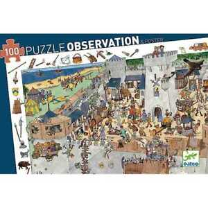 100 PUZZLE  OBSERVATION POSTER COMME NEUF