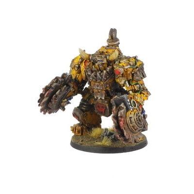 Ork War2 Orc Juggernaut Mecha-Armour mit Rippa Buzzsaws Kromlech KRM049