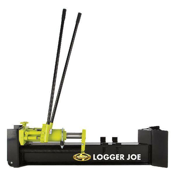 Sun Joe Logger Joe 10-Ton Hydraulic Manual Steel Portable Lo