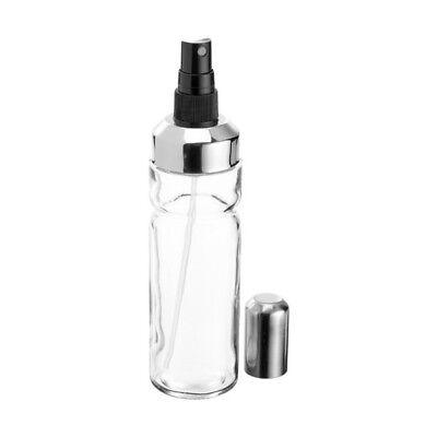 FACKELMANN | Oliera a Spruzzo | Oliera Spray 200ml in Vetro | Tappo Acciaio Inox