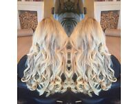 Hair extensions and hairdresser LA weave great lengths bonds and fusion bonds