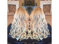 Hair extensions hairdresser weave great lengths bonds