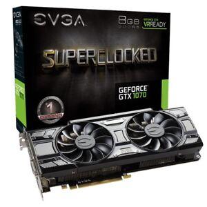 EVGA GeForce GTX 1070 SC GAMING, 8GB GDDR5, Black Edition