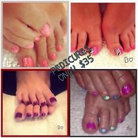 Pedicure ONLY $35.00