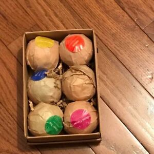 Selling Sets of 6 Organic Bath Bombs