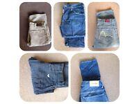 Men's Designer Jeans and Cords £15 pounds a pair