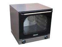Blizzard BC01 convection oven with twin fan assisted elements. 240v, Electric. Excellent Condition