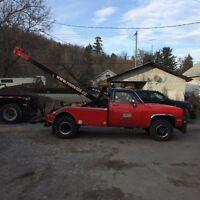 Gmc 3500 4+4 tow truck Vulcan wrecker ,depanneuse,towing