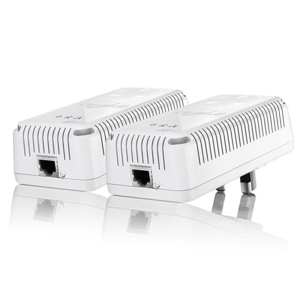 Devolo dLAN 500 AVplus Starter Kit Powerline Adapter Steckdose 500 Mbit/s