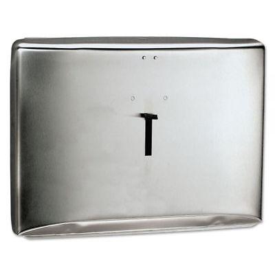 Kimberly Clark Stainless Steel Toilet Seat Cover Dispenser 09506