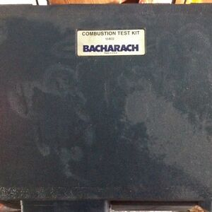 Bacharach combustion tester