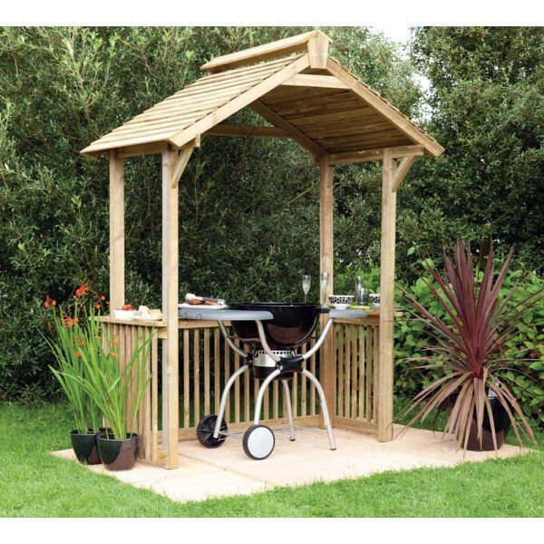 How to Make a BBQ Shelter