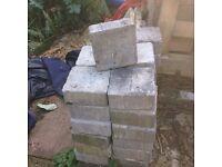 Aggregate - square bricks