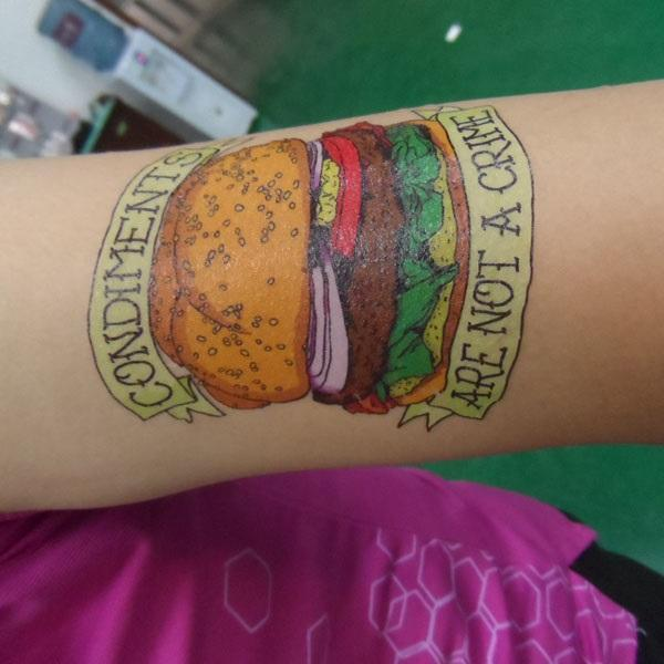 Printed Temporary Tattoo Sheets in A4 size full color 1 day deliver good quality assured.cheap