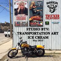 Art Gallery/TV/Ice Cream: Film Student?