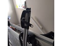 Thule roof rack with bike stands