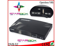 ✮SAT DISH AND INTERNET REQUIRED✮✰600 MHZ✰OPeNBOx V8S HD 1080p SAT ReCeiVeR✰ 2016 -12 MTHS CHANNELS