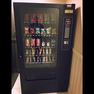 Busy Hotel Snack Vending Machine in Mississauga
