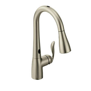 Arbor with MotionSense spot resist stainless one-handl, 7594ESRS