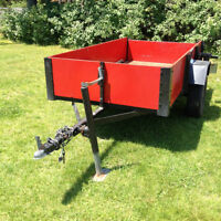 TWO UTILITY TRAILERS FOR SALE  4x8