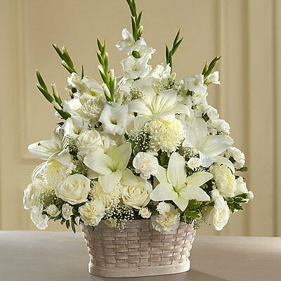 Peaceful Passage Sympathy Arrangement Fresh Flowers Delivery By Florist