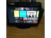 """42"""" Hitachi full 1080 p HD TV"""