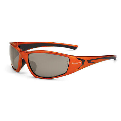 Crossfire RPG Safety Glasses with Copper Mirror Lens, Orange (Glasses With Mirror)