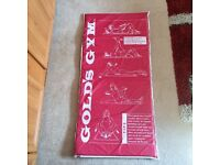 Free padded gym mat