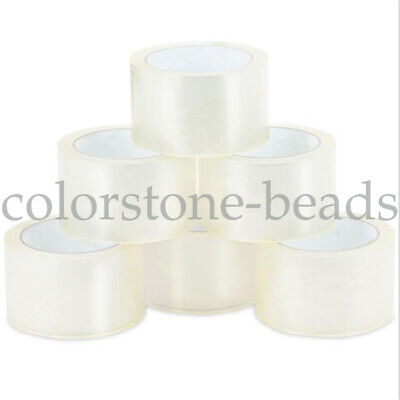 18 Rolls Clear Packing Packaging Carton Sealing Tape Shipping-2 mil 2