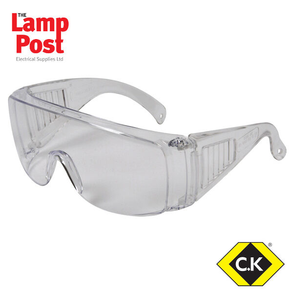 CK Tools Avit AV13020 - Clear Cover Spectacles Eye Protection Safety Equipment